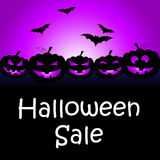 Halloween Sale Means Trick Or Treat And Celebration Royalty Free Stock Image