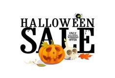 Halloween sale offer design. vector illustration