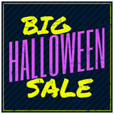 Halloween Sale Poster Royalty Free Stock Photography