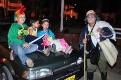 Halloween in San Agustin - Colombia Royalty Free Stock Photography