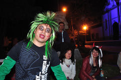 Halloween in San Agustin - Colombia Stock Image