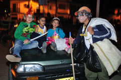 Halloween in San Agustin - Colombia Royalty Free Stock Image