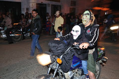 Halloween in San Agustin - Colombia Stock Photo