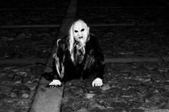 Halloween - Santa Maria da Feira - Portugal fotos de archivo