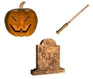 Halloween-Satz   Stockfotos