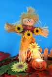 halloween scarecrow royaltyfri fotografi