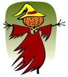 halloween scarecrow stock illustrationer