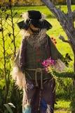 halloween scarecrow Royaltyfria Bilder