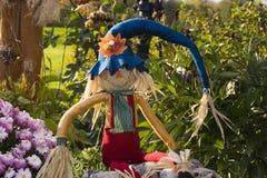 halloween scarecrow Arkivbild