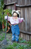 Halloween scarecrow decoration Royalty Free Stock Photos