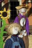 Halloween Scarecrows. Decoration Stock Photos