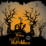 Halloween scary background Royalty Free Stock Photo