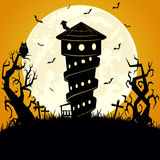 Halloween scary background Stock Images
