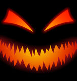 Halloween Scary Face Royalty Free Stock Photography
