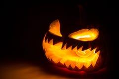 Halloween scary face pumpkin Royalty Free Stock Photos