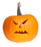 Halloween scary jack'o'lantern Royalty Free Stock Image