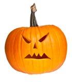 Halloween scary jack'o'lantern Stock Images