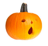 Halloween scary jack'o'lantern Stock Images