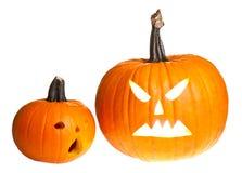 Halloween scary jack'o'lantern Stock Image