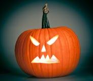 Halloween scary jack'o'lantern Royalty Free Stock Images