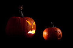 Halloween Scary Jack O Lantern Royalty Free Stock Photo