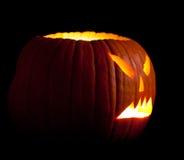 Halloween scary jack'o'lantern Royalty Free Stock Photos