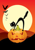 Halloween scary night Royalty Free Stock Photography