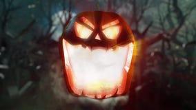 Halloween scary night stock video