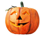 Halloween scary pumpkin Royalty Free Stock Photography
