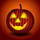 Halloween scary pumpking Stock Photography