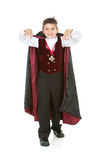 Halloween: Scary Vampire Boy Stock Images