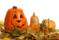 halloween scena Obrazy Stock