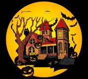 Halloween scene Royalty Free Stock Photo