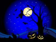 Halloween scene Royalty Free Stock Photography