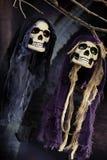Halloween scene on dark background Stock Image