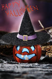 Halloween scene on dark background Stock Photography