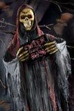 Halloween scene on dark background Stock Photo