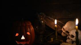 Halloween scene stock footage