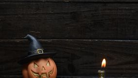 Halloween scene stock footage