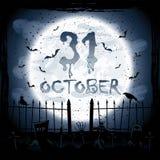 Halloween scene Stock Image