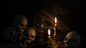 Halloween scene stock video