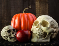 Halloween Scene Stock Photography