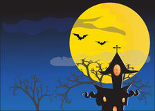 Halloween Scenery Royalty Free Stock Images