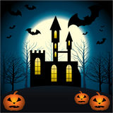 Halloween Scenery. Royalty Free Stock Images