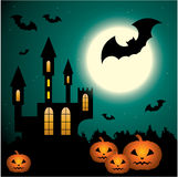 Halloween Scenery. Royalty Free Stock Image