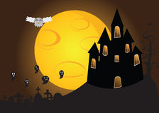 Halloween Scenery Royalty Free Stock Photo