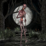 halloween sceny żywy trup Zdjęcia Stock