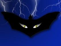 Halloween-Schablone Stockfoto