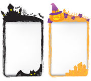 Halloween-Schablonen Lizenzfreies Stockfoto