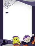 Halloween-Schablonen Stockfoto